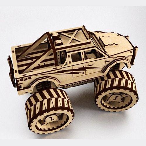Lasercut truck