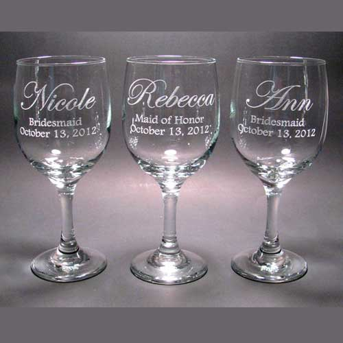 laser engraving on glasses