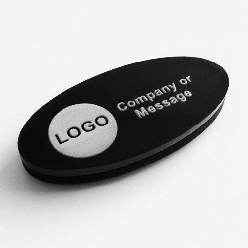fridge magnets acrylic oval