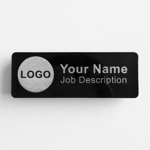 name badges acrylic