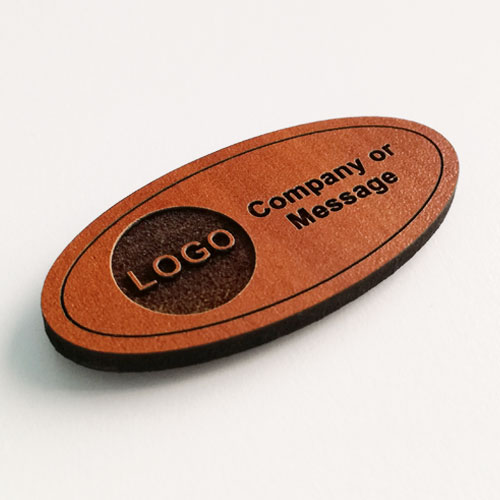 fridge magnets wooden oval