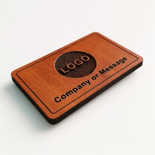 fridge magnets wooden rectangle